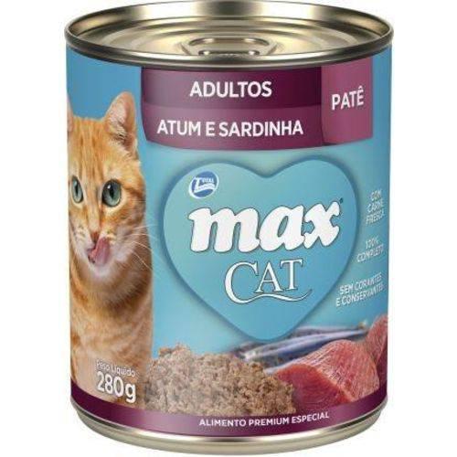 Max Cat Patê - Sabor: Atum e Sardinha