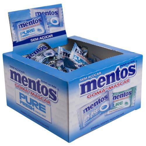 Mentos Pure Fresh Sortido C/60 - Perfetti