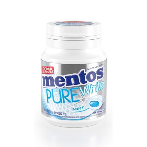 Mentos Pure White Menta 56g