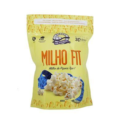 Milho de Pipoca Fit 400g - Pipoca de Colher