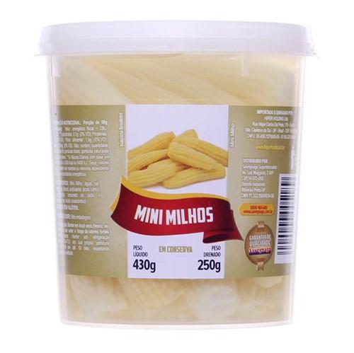 Mini Milho Cons 250g Sav