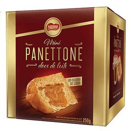 Mini Panettone Recheado Doce de Leite 250g - Nestlé