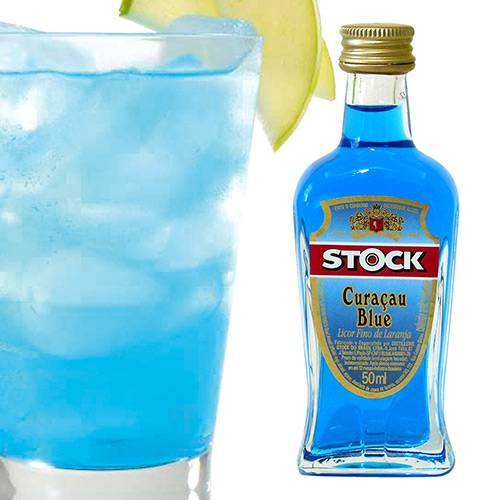Miniatura de Licor Curaçau Blue - Stock