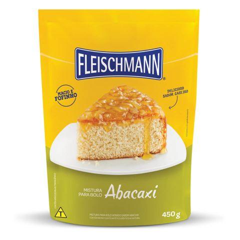 Mistura para Bolo Abacaxi 450g - Fleischmann