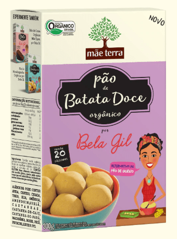 Mistura para Pão de Batata Doce 300g - Mãe Terra