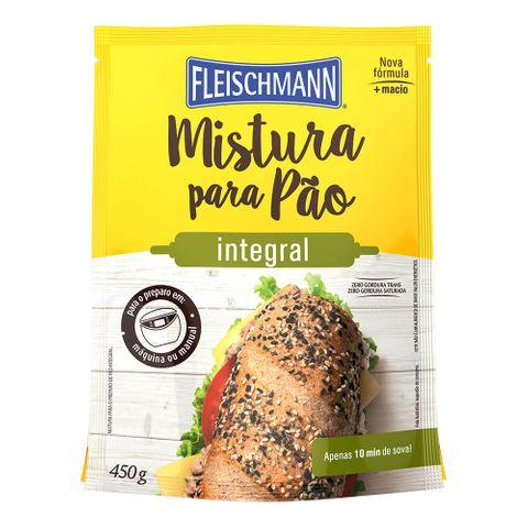 Mistura para Pão Integral 450g - Fleischmann