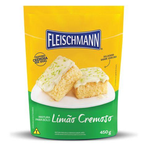 Mistura Pronta para Bolo Limão Cremoso 450g - Fleischmann
