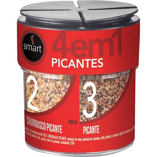 Mix de Temperos Pimenta 4 em 1 96g - Smart