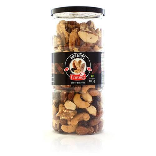 Mix Nuts com Uva Passa, Amêndoa, Castanhas e Amendoim 400g