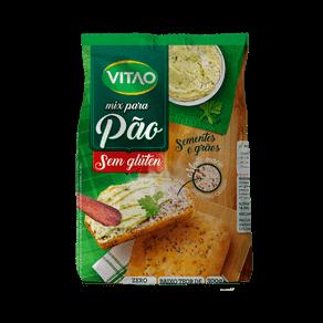 Mix Sem Glúten para Pão Sementes e Grãos Vitao 300g