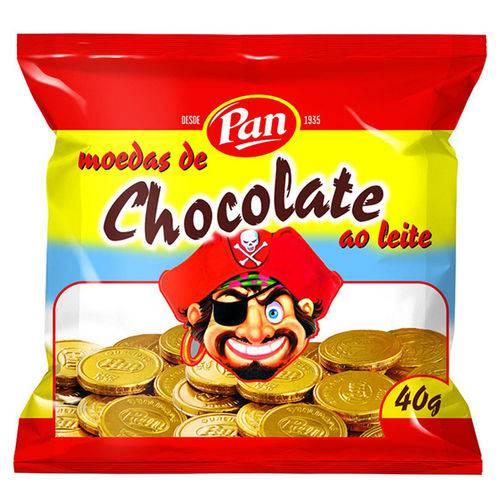 Moedas de Chocolate C/12 - Pan
