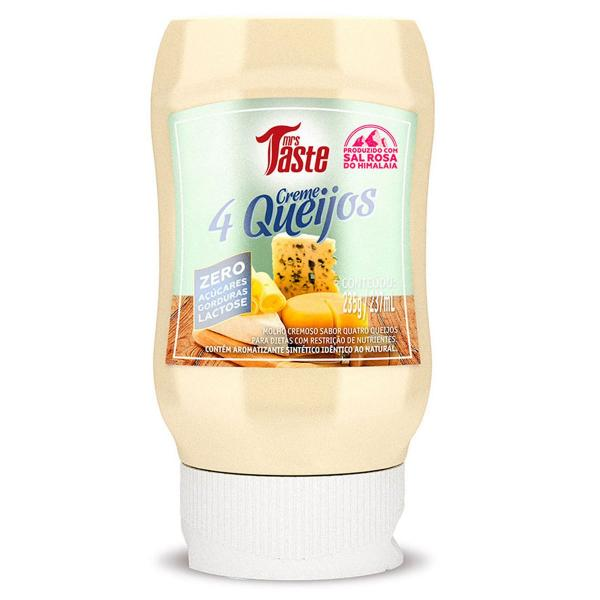 Molho CREME 4 QUEIJOS - Mrs Taste - 235grs