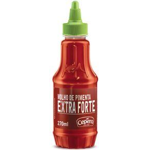 Molho de Pimenta Extra Forte Cepera 60ml