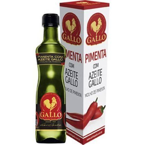 Molho de Pimenta Gallo com Azeite (50ml)