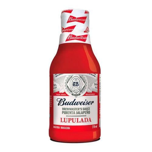 Molho de Pimenta Jalapeño Lupulada Budweiser 210ml