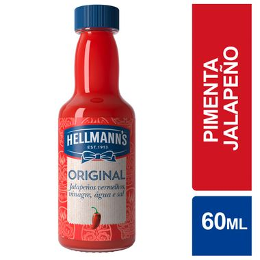 Molho de Pimenta Original Hellmanns 60ml