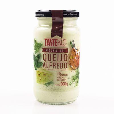 Molho de Queijo Alfredo 300g - Taste & Co