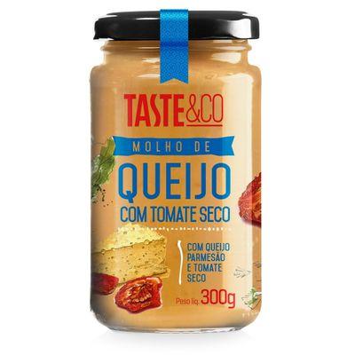 Molho de Queijo com Tomate Seco 300g - Taste & Co