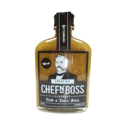 Molho de Salsa de Pimenta Verde com Chimichurri 160ml - Chefn Boss
