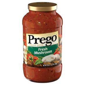 Molho de Tomate com Cogumelos Prego 396g