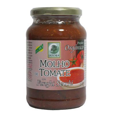 Molho de Tomate Funghi 570g - Jatobá Orgânicos