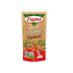 Molho de Tomate Orgânico Fugini 340g