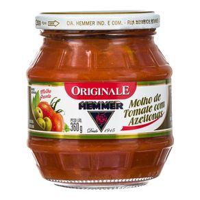 Molho de Tomate com Cebola Originale Hemmer 360g