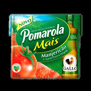 Molho de Tomate Pomarola Mais Manjericão 520g