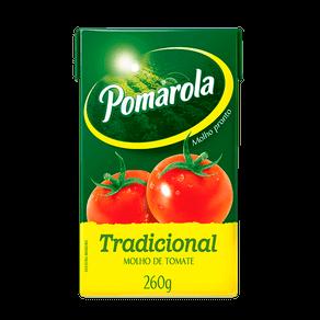 Molho de Tomate Pomarola Tradicional 260g (Tetra Pak)