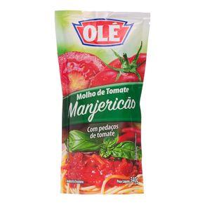 Molho de Tomate Sabor Manjericão Olé 340g