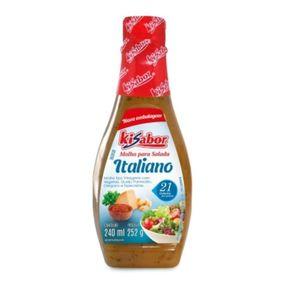 Molho Italiano para Salada Kisabor 240g