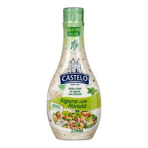 Molho para Salada Iogurte com Hortelã Castelo 236g