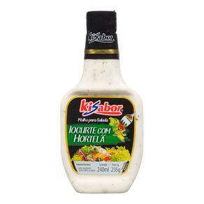 Molho para Salada Iogurte com Hortelã Kisabor 240mL