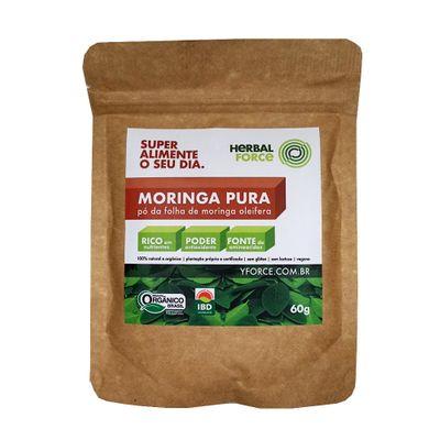 Moringa Pura Orgânica 60g - Herbal Force