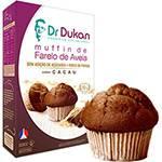 Muffin de Farelo de Aveia Sabor Cacau Dr Dukan