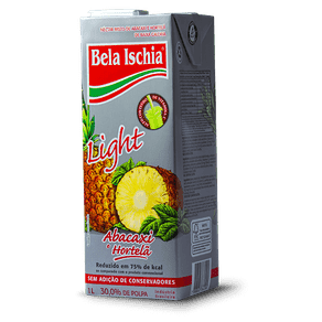 Néctar Bela Ischia Light Misto Abacaxi e Hortelã 1l