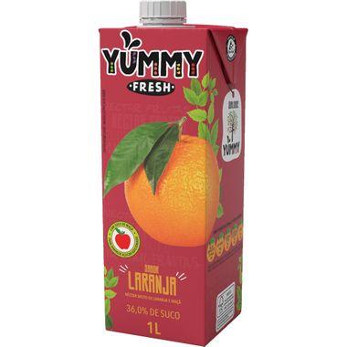 Néctar de Laranja e Maçã Yummy Fresh 1L
