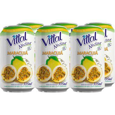 Néctar de Maracujá Vittal 335ml
