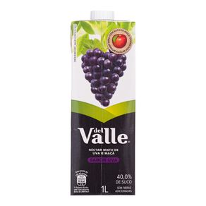 Néctar de Uva Del Valle Mais 1 Litro