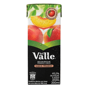 Néctar Del Valle Nutri Pêssego 200ml