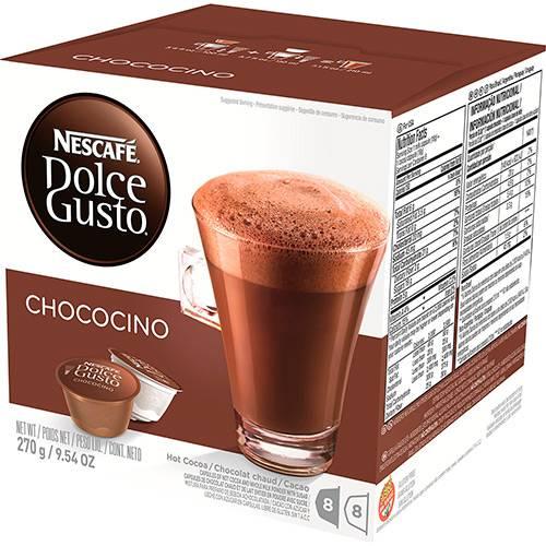 Nescafé Dolce Gusto Chococino - 16 Cápsulas (8 Chocolate + 8 Leite) - Nestlé