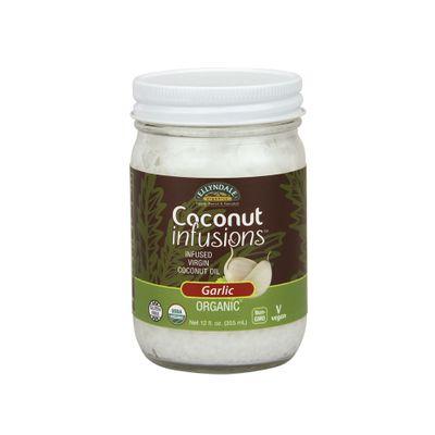 Oleo de Coco com Sabor Natural de Alho Orgânico 355ml - Now