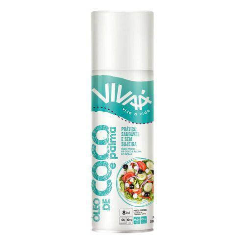 Óleo de Coco e Palma em Spray Vivaá 147ml