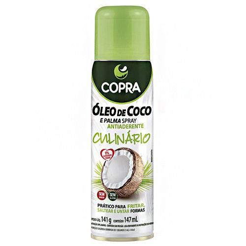 Óleo de Coco e Palma Spray Antiaderente Culinário Copra 147ml