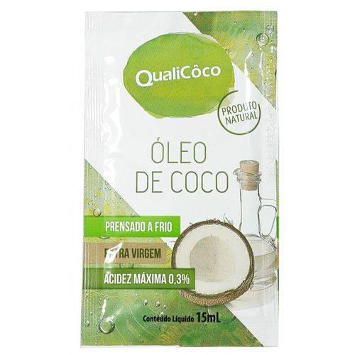 Óleo de Coco Prensado a Frio Extra Virgem Sache 15ml