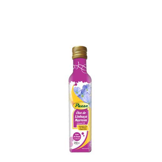 Oleo de Linhaça Marrom Pazze Extra Virgem 250ml