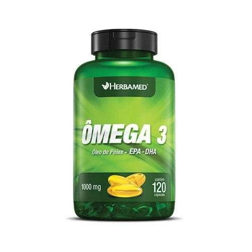 Ômega 3 (120 Cápsulas) 1000mg - Herbamed