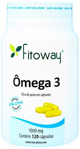 Omega 3 - 120 Cápsulas, Fitoway