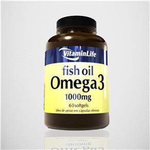 Omega 3 1000 Mg - VitaminLife - 120 Cápsulas