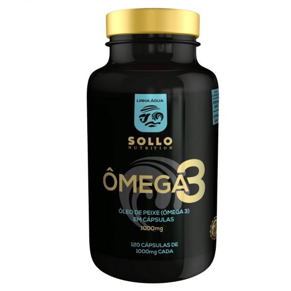 Ômega 3 1000mg - 120 Cápsulas - Sollo Nutrition
